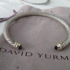 David Yurman Cable Classic Cuff Amethyst